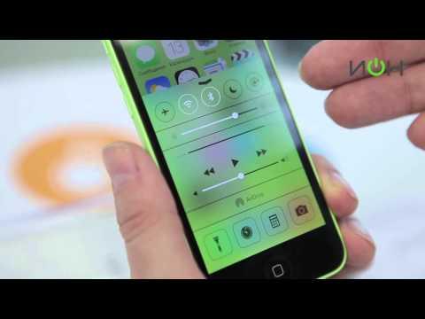 Видео обзор Apple iPhone 5C от ИОН