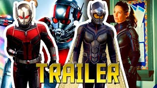 Ant-Man and The Wasp HD Trailer and Reaction! BEST MARVEL TRAILER YET!