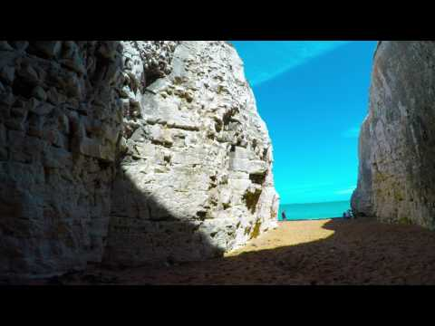 GoPro-Botany Bay beach and White Cliffs of Dover
