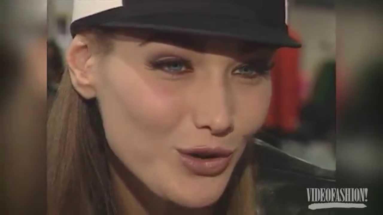 Carla bruni sarkozy videofashion 39 s 100 top models youtube for Bruni arredamento