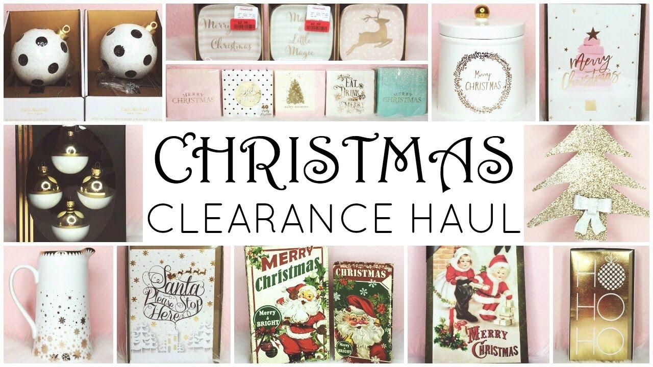 christmas clearance haul homegoods tj maxx marshalls target hobby lobby big lots - Hobby Lobby Christmas Clearance
