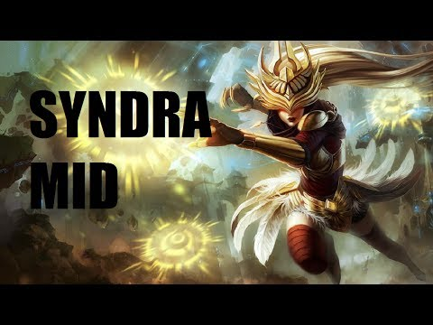 League of Legends - Justicar Syndra Mid - Full Game Commenta