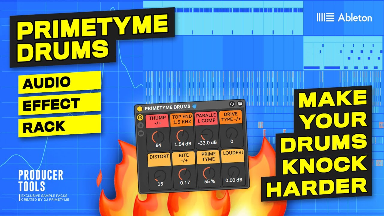 Make Your Drums Knock HARDER In Ableton - Primetyme Drums