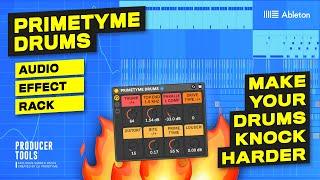 Make Your Drums Knock HARDER In Ableton - Primetyme Drums