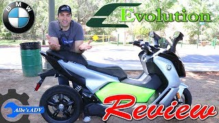 2018 BMW C Evolution complete review