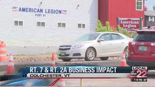 How a VTrans road project is affecting Colchester businesses