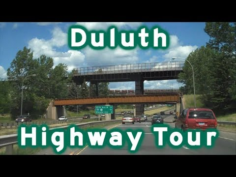 Highway Tour Of Duluth, MN