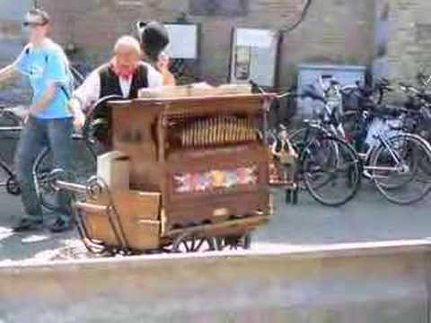 Barrel Organ Player - Bruges