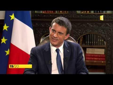 Interview Manuel Valls (île de la Réunion)