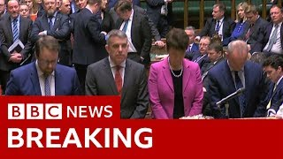 Brexit Vote: MPs back indicative process in vote - BBC News