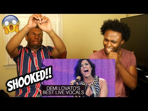 Demi Lovato's Best Live Vocals (REACTION)
