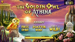 Golden Owl Of Athena Big Win - A Game By Betsoft.