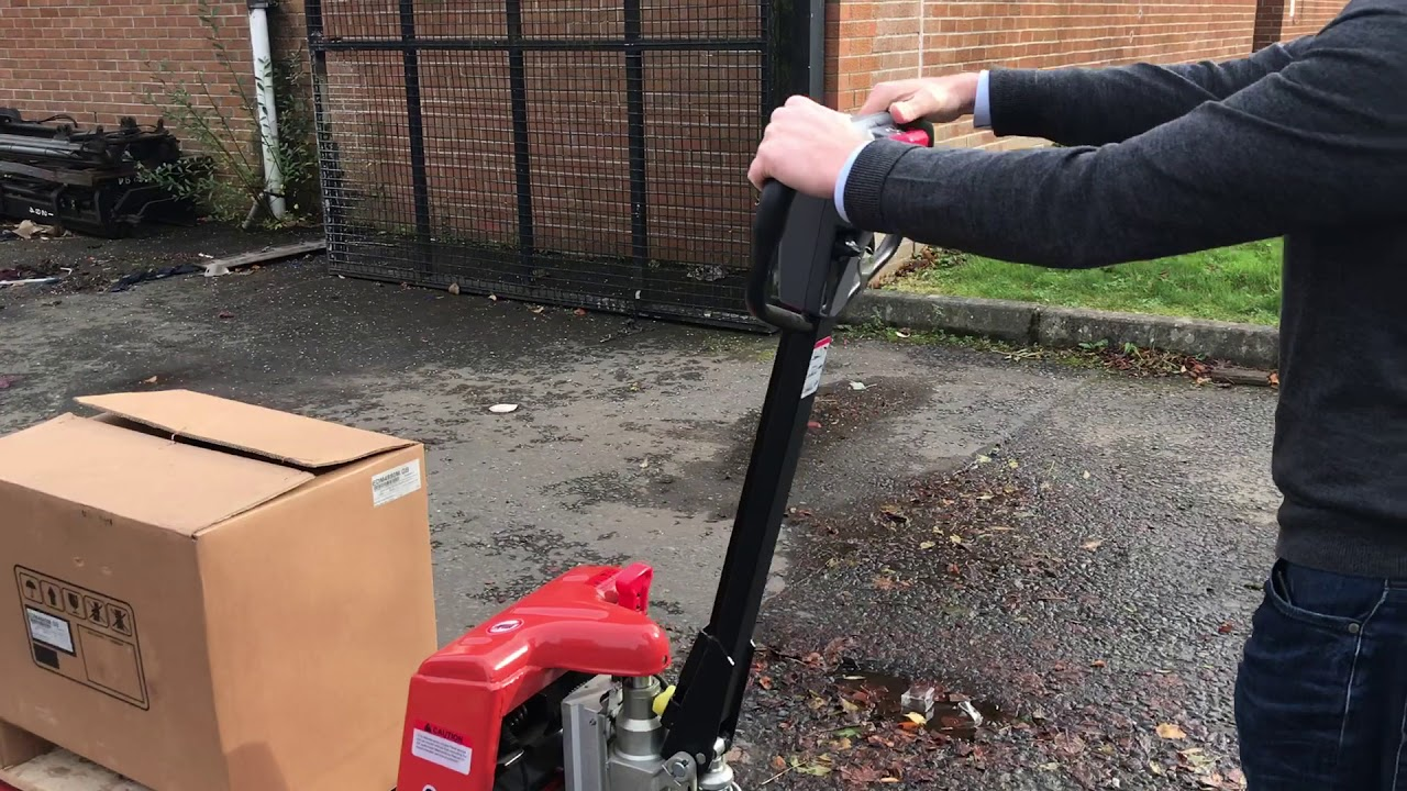 New EP Semi Electric Pallet Truck