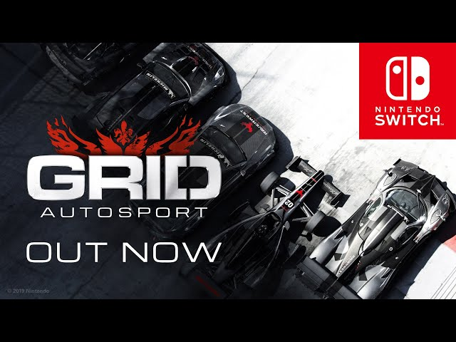 GRID™ Autosport – out now for Nintendo Switch