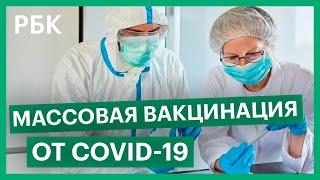 Массовую вакцинацию от COVID 19 планируют начать в начале 2021 года