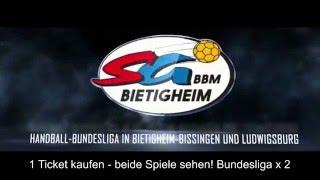 Teaser: Handball Bundesliga mal 2! Sonntag 21.02.2016 / MHPArena Ludwigsburg