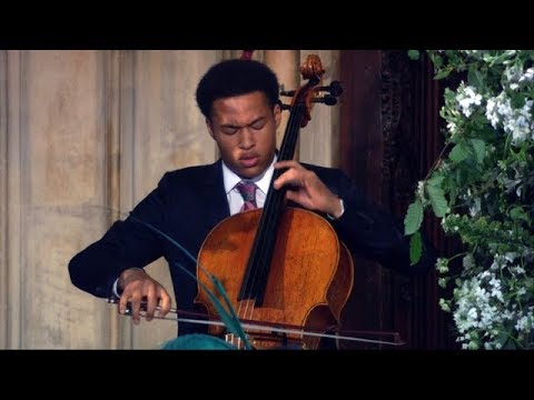 Royal wedding cellist: Teenaged musician Sheku Kanneh-Mason wows guests