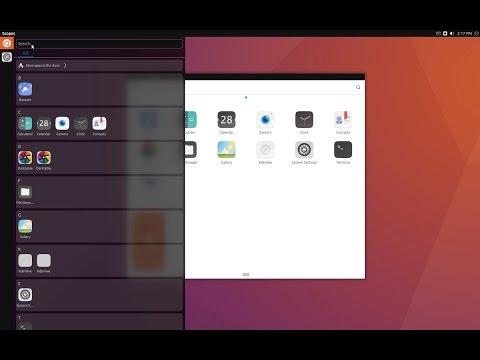 Ubuntu Unity 8 snap - edge r283