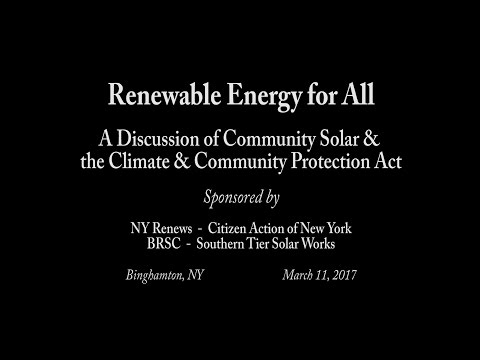 Livestream - Renewable Energy for All