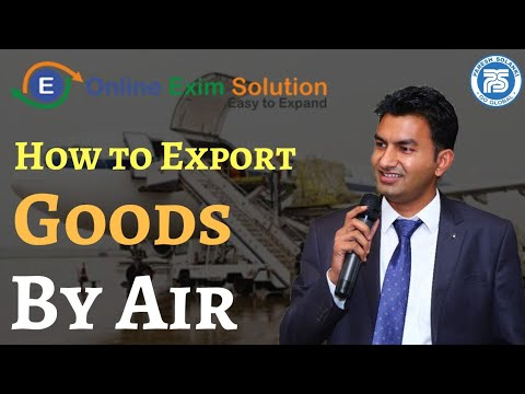 How to Export Goods By Air || Paresh Solanki || By Air Cargo Export || Import Export Business