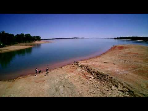Drone Footage, Clarks Hill Lake 4/2/17