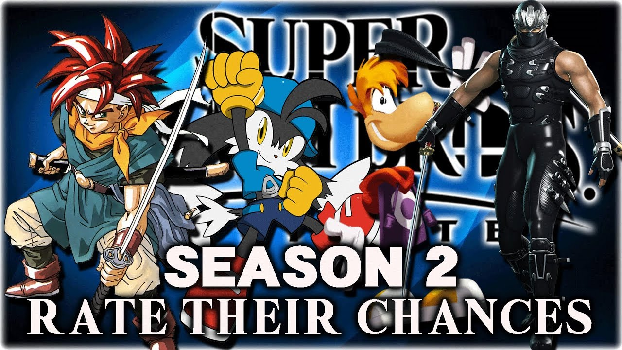 Super Smash Bros Ultimate Rate Their Chances S2 8 Klonoa Ryu Hayabusa Crono Rayman