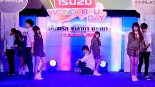 150214 Bubble Pink cover Apink - LUV + Mr.Chu @ISUZU Cover Dance Contest