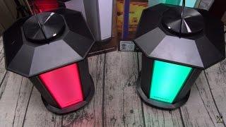 Monster GLO Outdoor Multi - Color LED Lantern Speakers