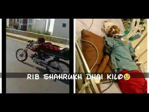Shahrukh Dai Kilo Accident Video And Some Pictures Between The RAce Saqib Sankey Munsif Race Fomi