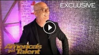 Howie Mandel Is Ecstatic About His Golden Buzzer Courtney Hadwin   America's Got Talent 2018