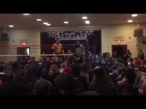 Teddy Goodz vs Logan Black PVP Wrestling - Hadley, MA Will Dojan DIES! FANCAM