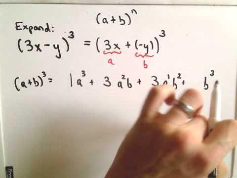 The Binomial Theorem - Example 2