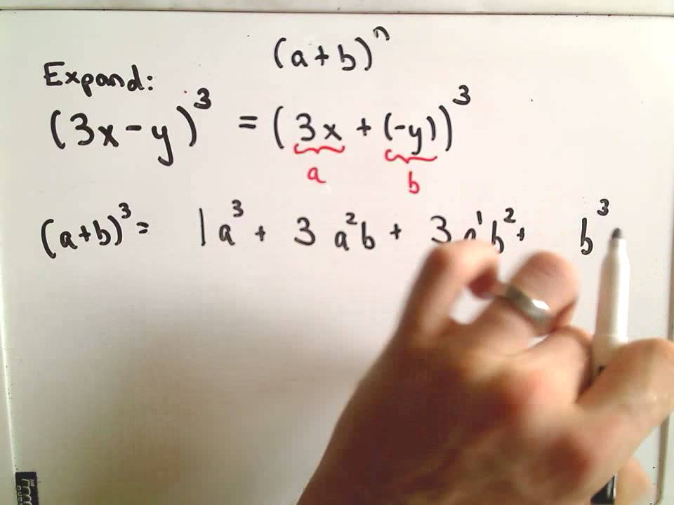 The Binomial Theorem Example 2 Youtube