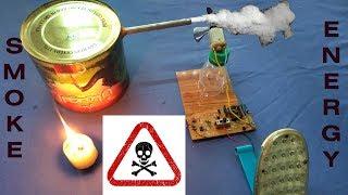 Dangerous Smoke Energy- Convert Smoke to Free Energy- Generator free energy
