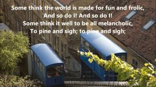 Video Italian songs FUNICULI, FUNICULA A MERRY LIFE, words lyrics favorite sing along song songs download MP3, 3GP, MP4, WEBM, AVI, FLV Oktober 2018