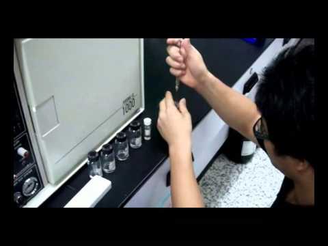 第七組 氣相色層分析應用 米酒中是否含有甲醇 - YouTube