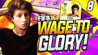 FIFA 16 | WAGE TO GLORY!! #8 - RACKING UP THE COINS!!
