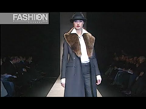 CERRUTI Fall 2003 2004 Menswear - Fashion Channel