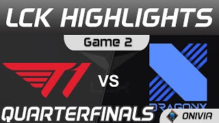 T1 vs DRX Highlights Game 2 Quarterfinals Spring Playoffs 2021 T1 vs DragonX by Onivia