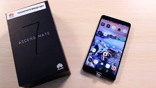 Huawei Ascend Mate 7 ОБЗОР