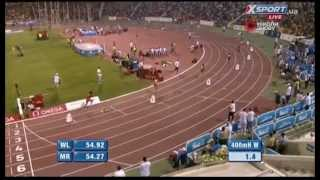 Diamond League 2014. Doha. 400m Hurdles W