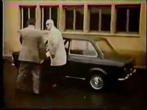 FIAT 128 driven by ENZO FERRARIThe biggest selling car in EuropeSpot