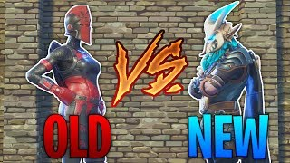 OLD FORTNITE VS NEW FORTNITE! I MISS THE OLD FORTNITE