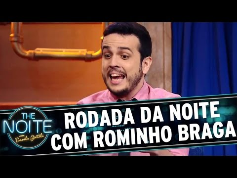 The Noite (30/03/16) - Rodada Da Noite Com Rominho Braga E Felipe Hamachi