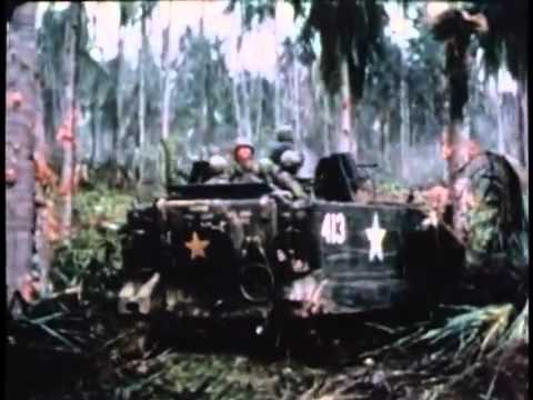 M113 Armored Personnel Carriers in the Vietnam Jungle