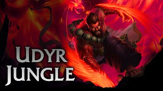 League of Legends | Spirit Guard Udyr Jungle - Full Game Commentary