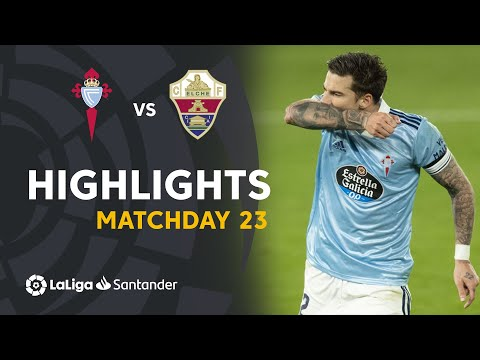Celta Vigo Elche Goals And Highlights