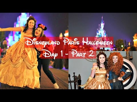 Disneyland Paris Halloween Vlogs | Day 1 Part 2