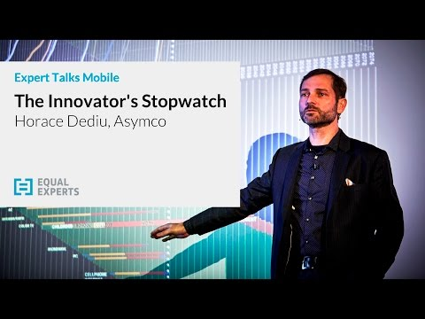 Horace Dediu, Asymco - The Innovator's Stopwatch: When Timing is Everything
