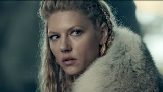 "Vikings - Season 3 Katheryn Winnick (""Lagertha"") Interview"